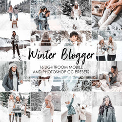 Winter Blogger Presets For Lightroom And Photoshop
