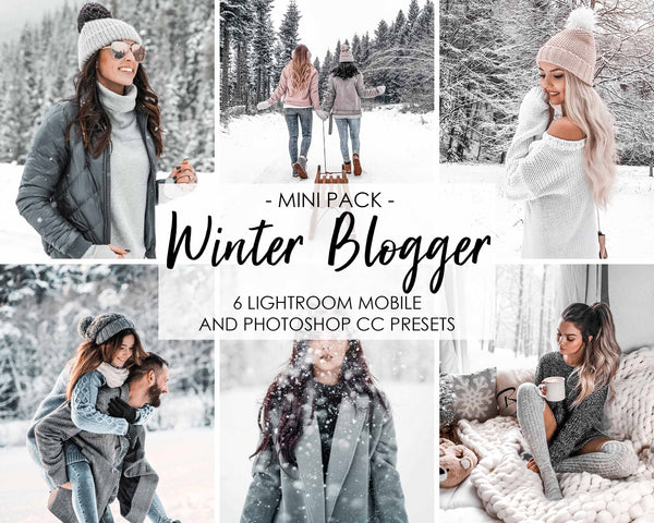 Winter Blogger Presets For Lightroom And Instagram