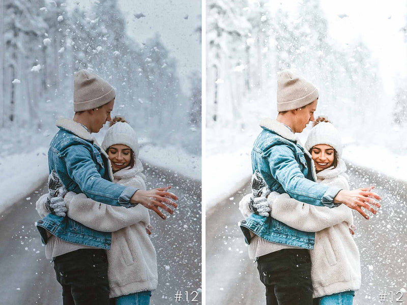 Winter Joy Presets For Lightroom And Photoshop