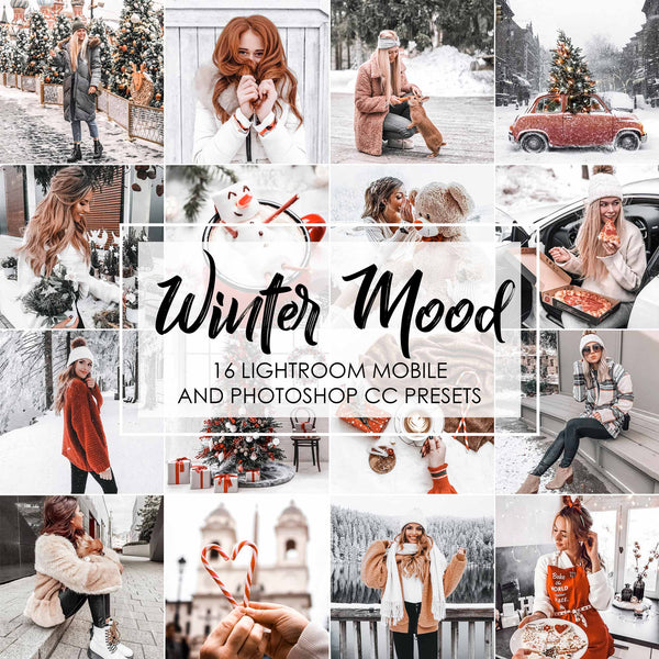 Winter Mood Presets For Lightroom CC