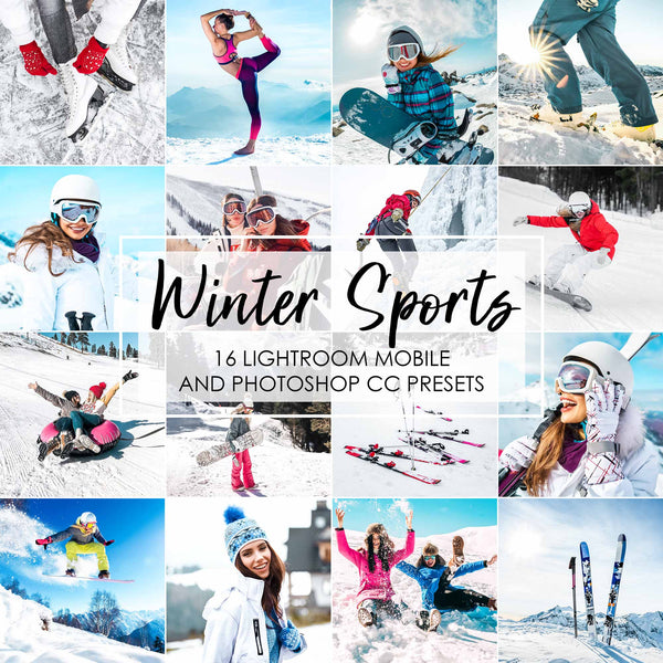 Winter Sports Presets For Lightroom CC