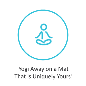 Yogi Away on a Mat That is Uniquely Yours!