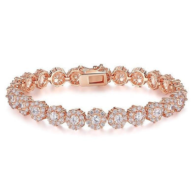 Brilliance Shine Rose Gold Bracelet (3 Colors) - ThreeSixtyZone
