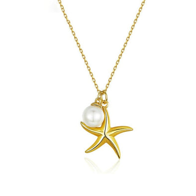 Starfish with Pearl Necklace - Summer Series - ThreeSixtyZone