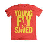 YOUNG FLY AND SAVED RED AND GOLD #PEYTONIGWT