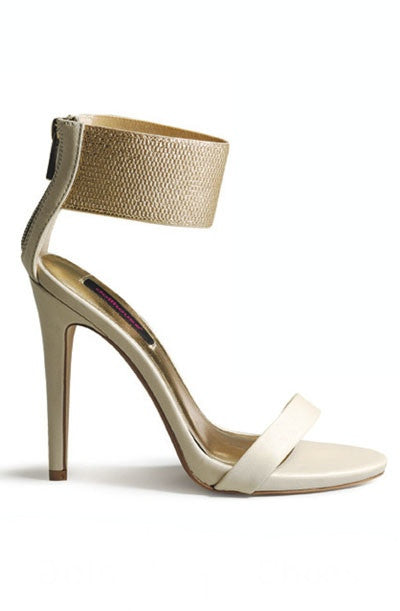 Dearly Beloved Ankle Cuff Heels - Ivory