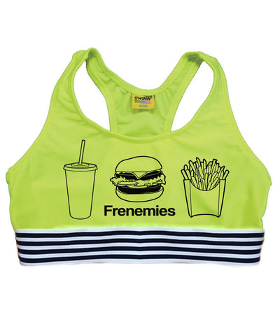 Best Kind Of Frenemies Sports Bra - Neon - Daily Chic
