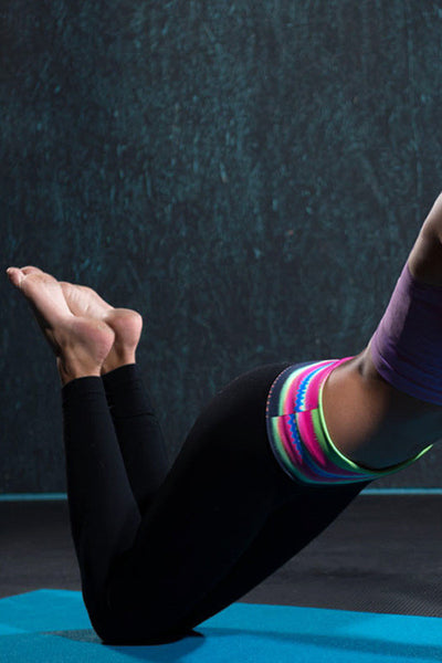 A New Day Yoga Pants - Electric Tribal - Daily Chic