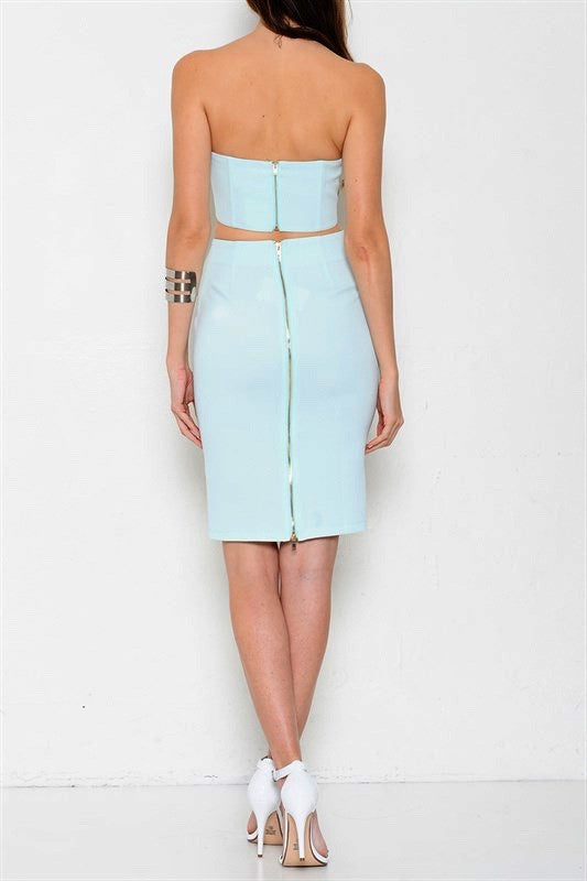 South Beach Two Piece Set - Mint