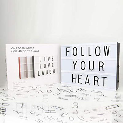 SAY IT! Light Up Letter Board - Daily Chic