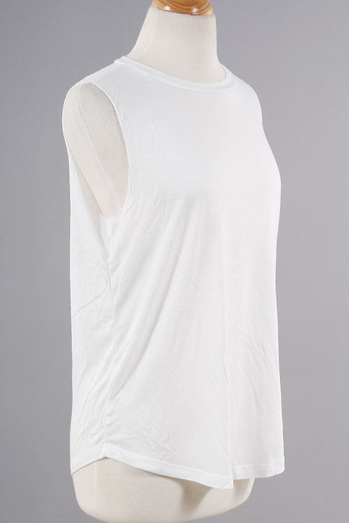 Chillaxin' & Relaxin' Tank - White - Daily Chic
