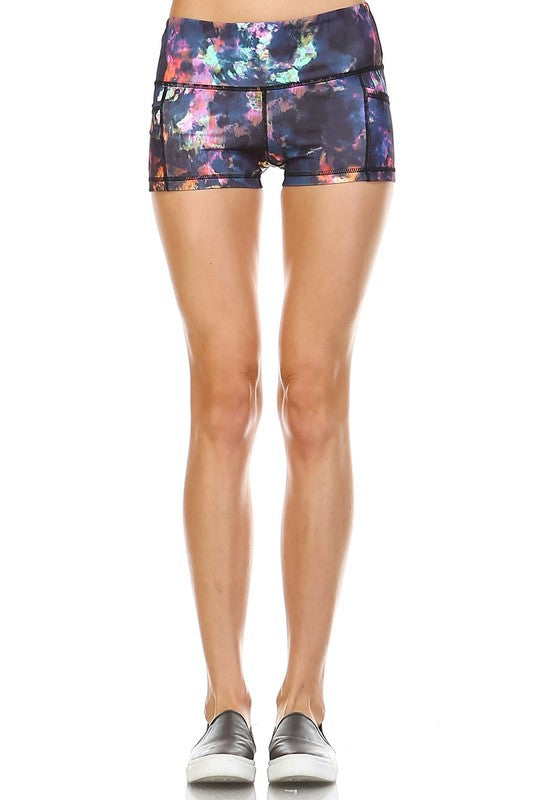 Otherworldly Athletic Shorts - Multi