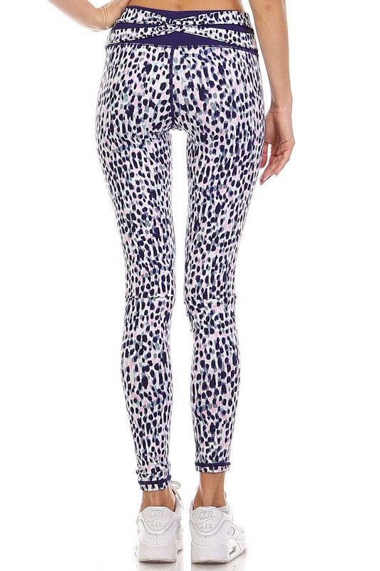 Wild & Free Print Leggings - Multi