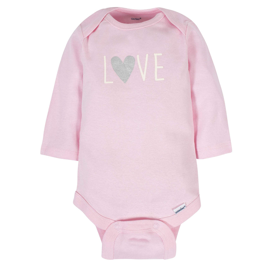 Bunny Baby 6-Pack Long-Sleeve Onesie Bodysuits - Daily Chic