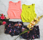 Be Legendary Fit Crop Top - Electric Pink - Daily Chic