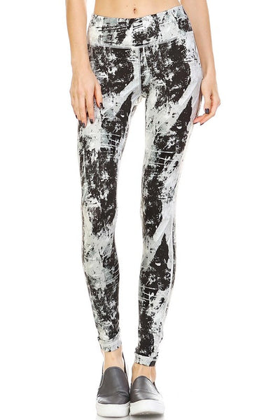 Masterpiece Yoga Pants - Print - Daily Chic