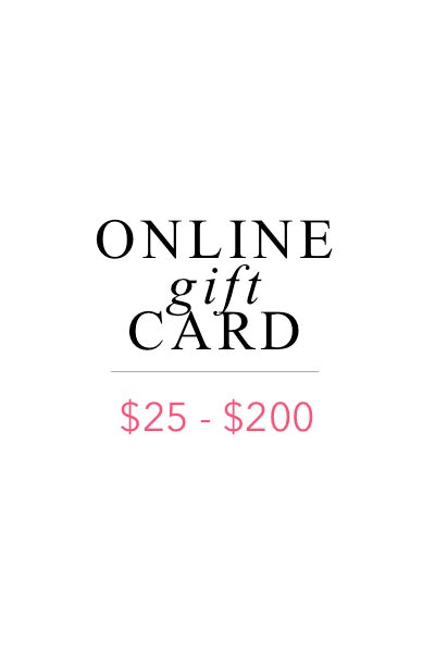 Online Gift Card - Daily Chic