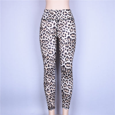 Prey High Waisted Leopard Yoga Pants - Print - Daily Chic