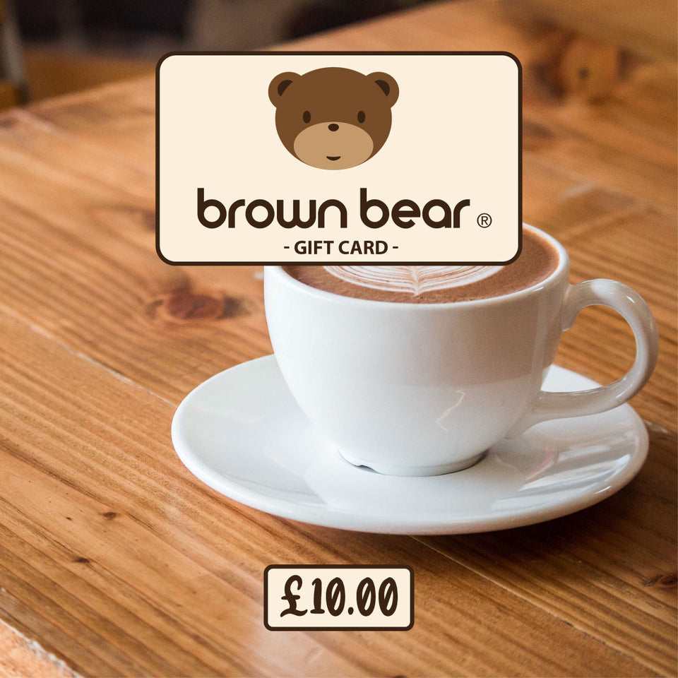 £10.00 Gift Card - Brown Bear Coffee