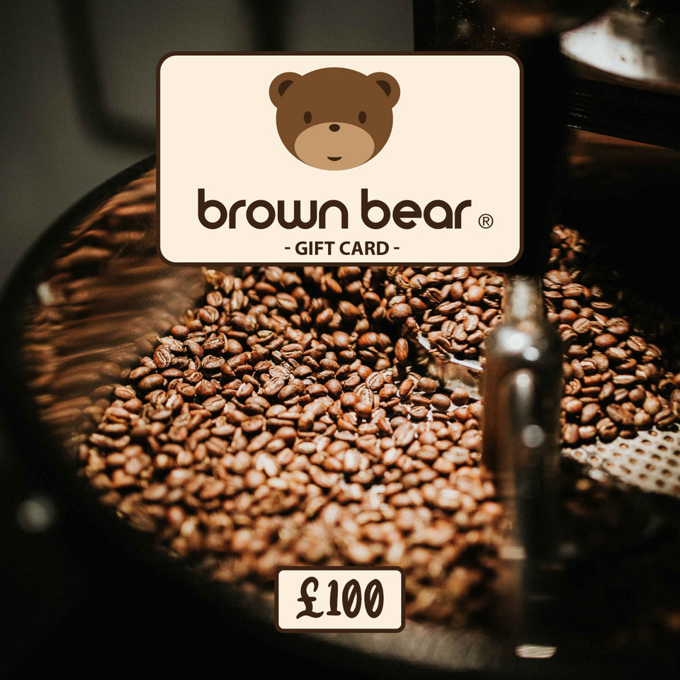 £100.00 Gift Card - Brown Bear Coffee