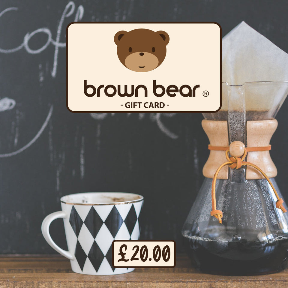 £20.00 Gift Card - Brown Bear Coffee