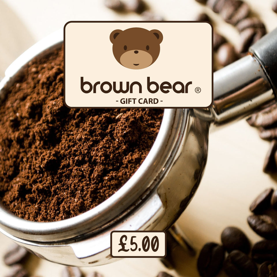 £5.00 Gift Card - Brown Bear Coffee
