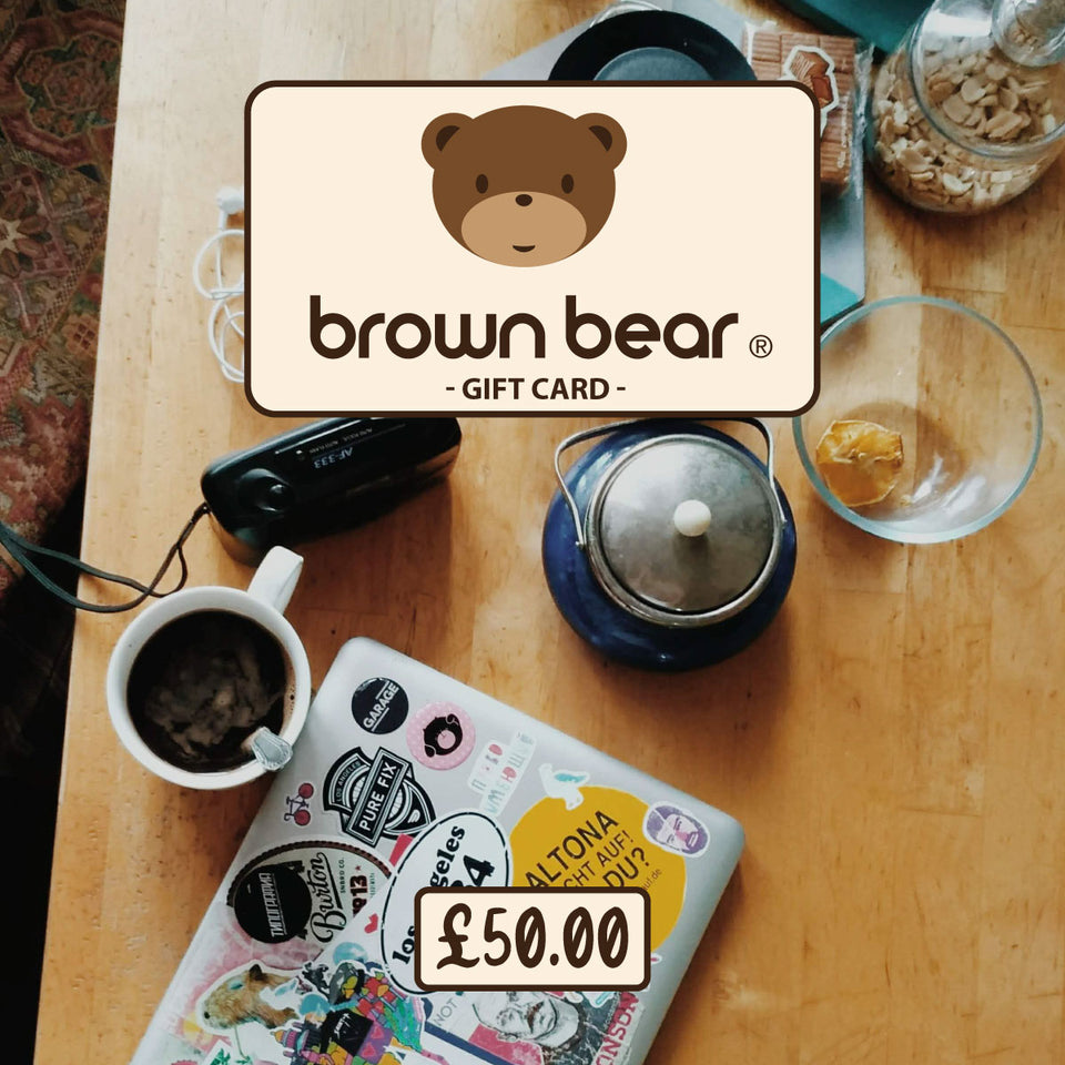 £50.00 Gift Card - Brown Bear Coffee