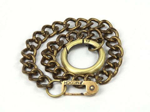 Chain Leash - Antique Brass