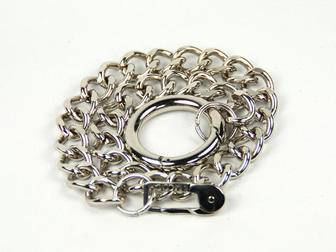 Chain Leash - Silver