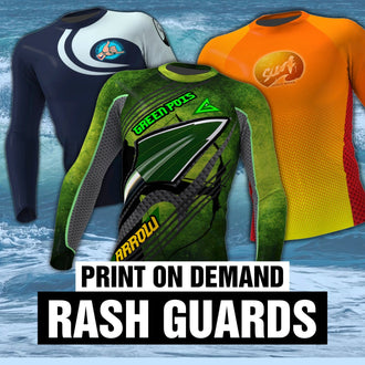 Print on Demand Rash Guards - Now Available in the Philippines!
