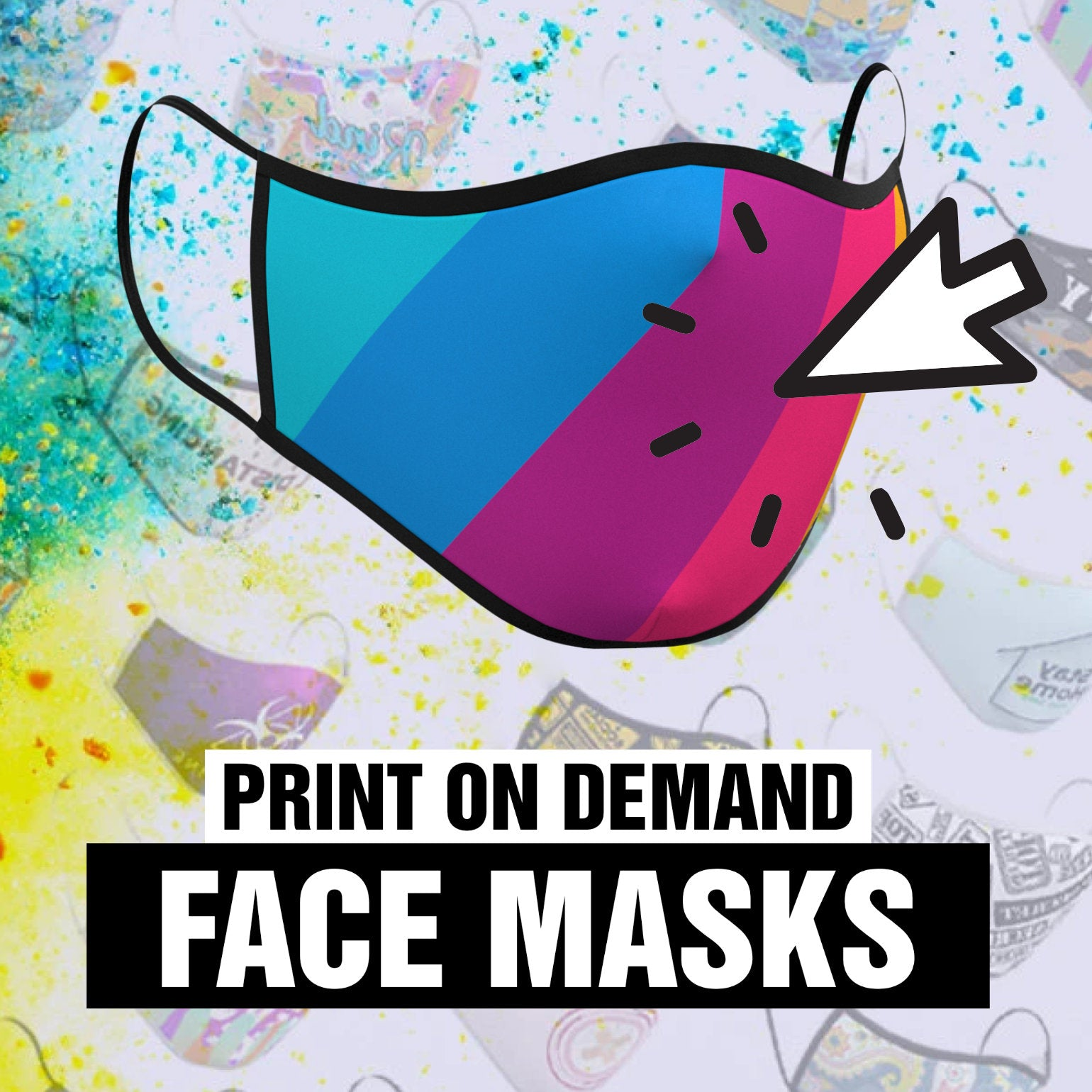 3D Face Mask Product Designer