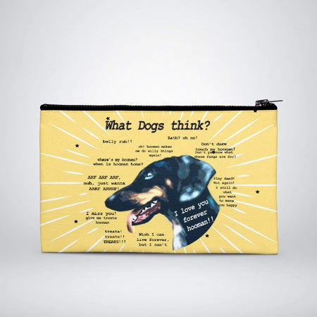Sublimation Print on Demand - Pouches - What Dog Think?
