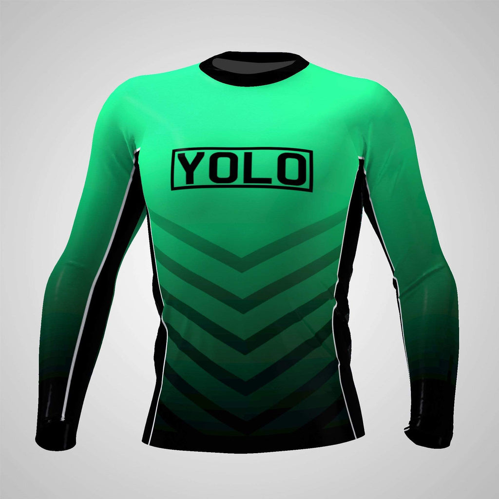 Sublimation Print on Demand - Rash Guards - YOLO