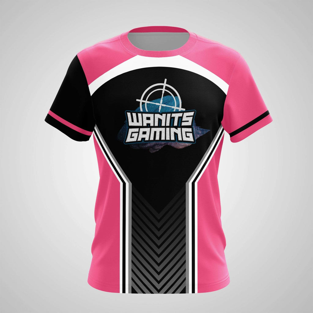 Sublimation Print on Demand - T-Shirt - Wanits Gaming Punch Pink