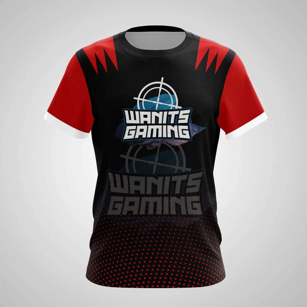 Sublimation Print on Demand - T-Shirt - Wanits Gaming Jam Black