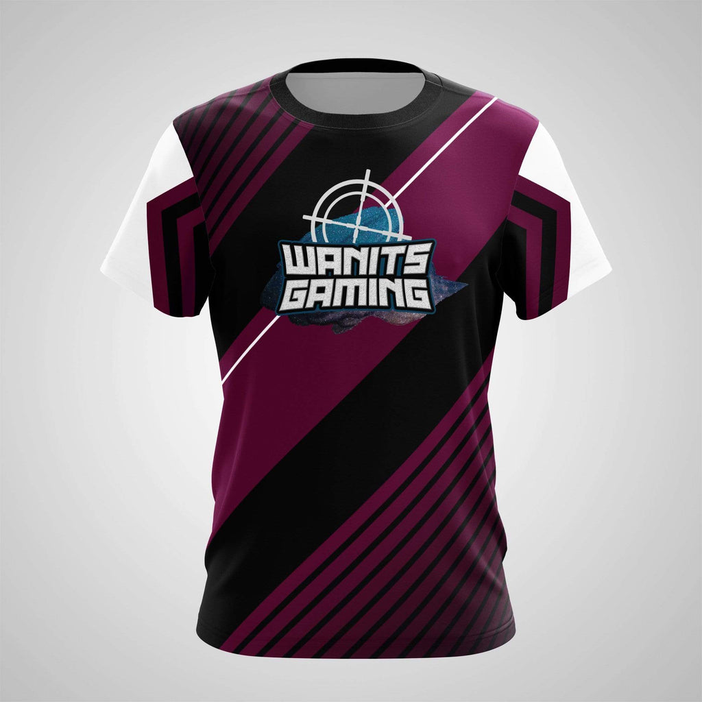 Sublimation Print on Demand - T-Shirt - Wanits Gaming Inked Purple