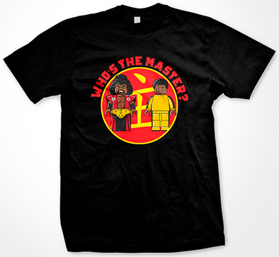 Shonuff Bruce Leroy Who's The Master T-Shirt