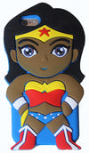 Black Brown Wonder Woman iPhone 6/6S Case