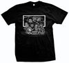 Terrordome Elementary Black Horror Movies T-Shirt
