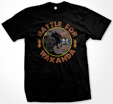 Black Panther Killmonger Battle For Wakanda T-shirt
