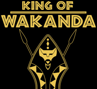 Wakandan Coat of Arms Shield T-Shirt