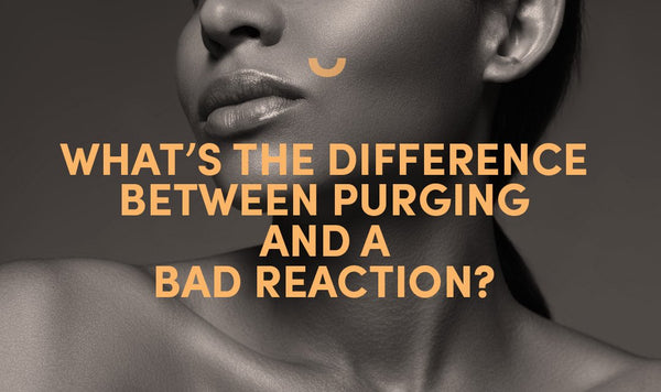 What's the difference between purging and a bad reaction?