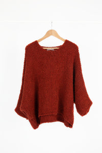 Oversized Cosy Teddy Jumper