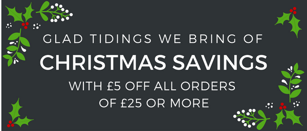 Save £5 on your Christmas Order!