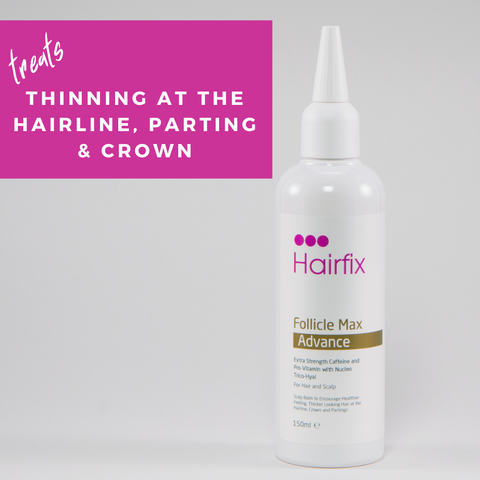 New! Follicle Max Volume - Lifting Mist with caffeine & keratin for fine & thinning hair.