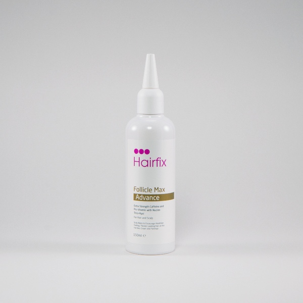 Supersize Hairfix Follicle Max Advance Turn Back Receding Hair Treatment for Crown, Hairline & Parting - 150ml - Hairfix