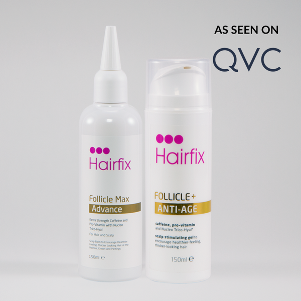 SAVE £21.00: Supersize 150ml Follicle Treatment Set: Follicle Max Advance & Follicle + Anti-Age - Hairfix