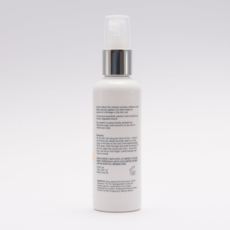 Hairfix Follicle Max Volume - Lifting Mist with caffeine & keratin for fine & thinning hair.