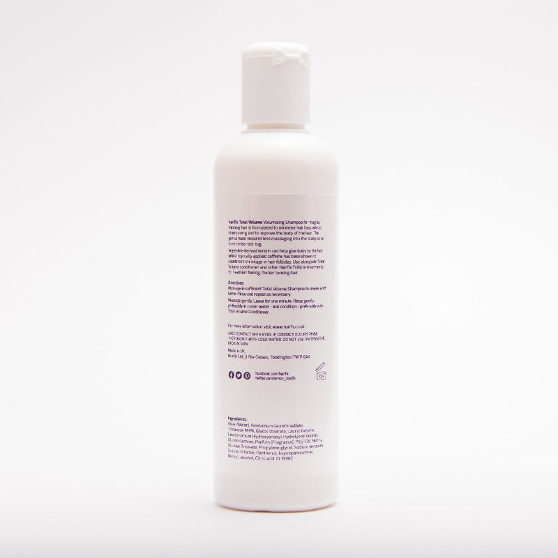 shampoo for thickening, volumising hair
