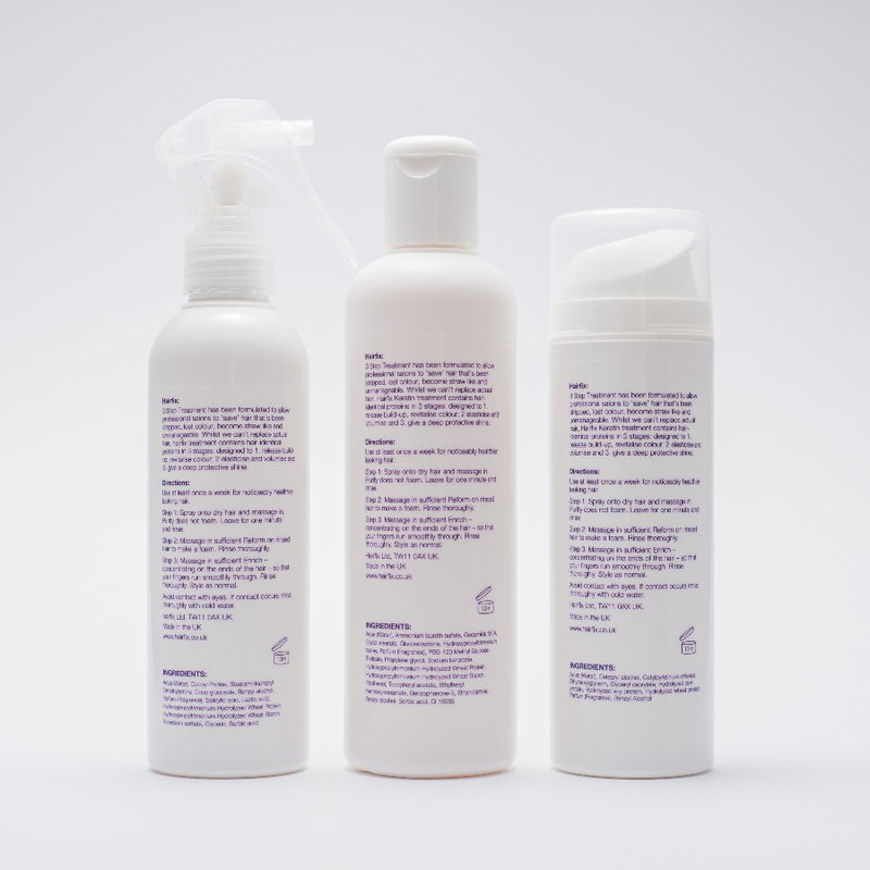 Hairfix Three Step Keratin Bonding Treatment - Hairfix